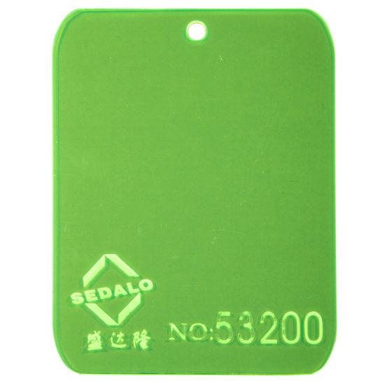 Fluorescent Cast Acrylic Sheet (SDL-53200)