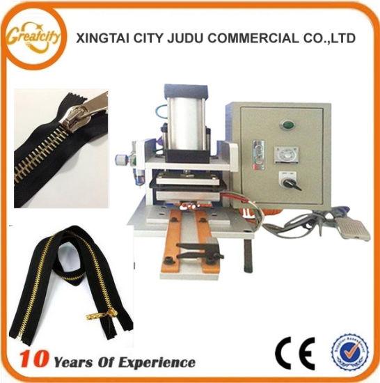 High Speed Zip Cutting Machine/Metal Zipper Machine