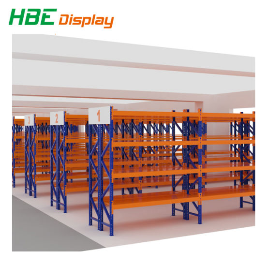 Heavy Double-Sided Heavy Duty Supermarket Shelf pictures & photos