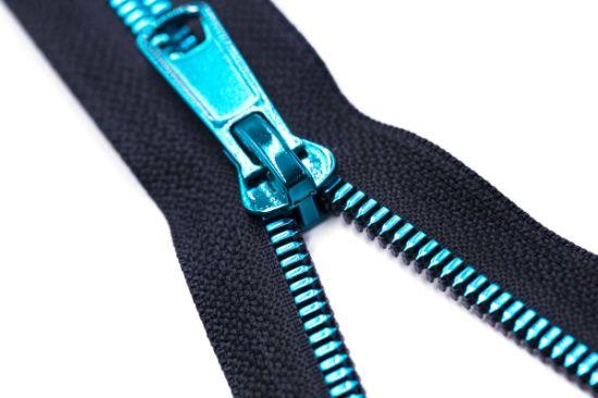 Vislon Zipper with Da Puller/Custom-Made/Top Fashion/Color Zipper Teeth