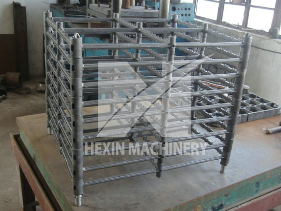 Charging Fixtures Assembled with Base Tray, Cross Beams for Vacuum Furnace Made by Sand Casting and Precise Casting Hx61033