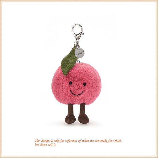 Cute Soft Cherry Doll Plush Cherry Cushion for Home Decoration