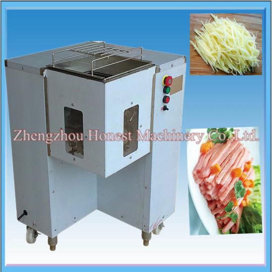 Hot Sale Automatic Meat Slicing Machine / Meat Strip Machine