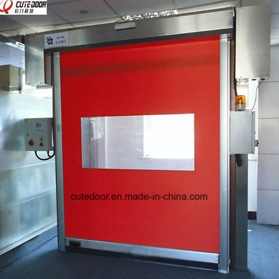 Self Repair Technology Strength and Anti-Shock High Speed Rolling Shutter Door pictures & photos