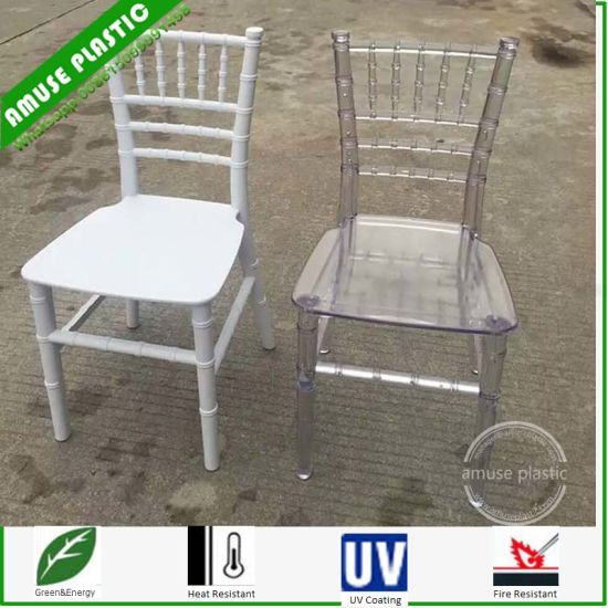 Clear Plastic Tiffany Chiavari Chairs for Sale pictures & photos