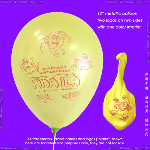 Inflatable Colour Printing Round Pearlized Balloon for Advertisement