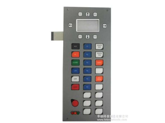 Metal Dome Embossing Control Keypad Touch Membrane Switch
