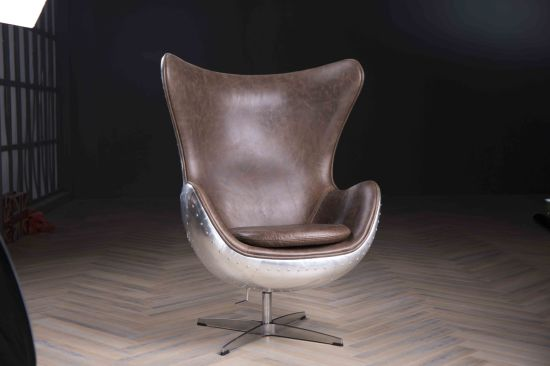 Spitfire Aj Egg Chair Vintage Leather