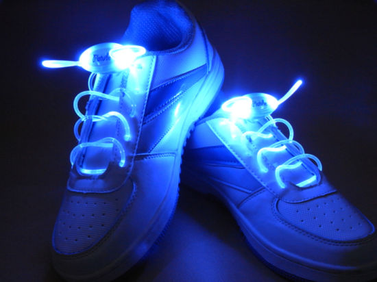 LED Glowing Sport Shoelaces pictures & photos