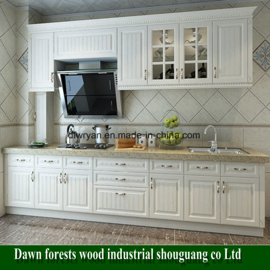 Melamine Particle Board Kitchen Furniture pictures & photos