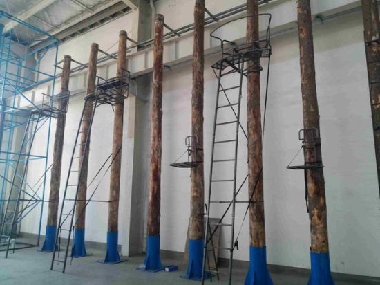China Game High Seat, Metal Ladderstand, Game Treestand, Deer Stand