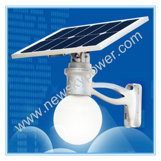 12W Energy Saving All in One Solar LED Garden Street Lamp