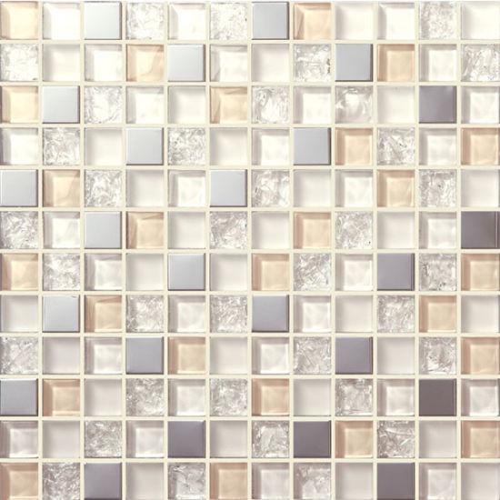 Rainbow Color High-Grade Bathroom Gl Mosaic on