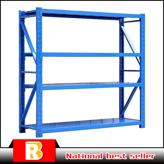 Double Side Heavy Duty Metal Goods Shelf pictures & photos