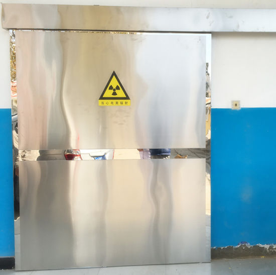 Yuhong Medical X-ray Protection Electric Door pictures & photos