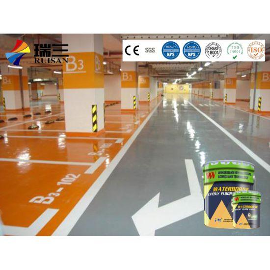 Cm-101mt Liquid Epoxy Resin Flooring Finish with Zero Voc