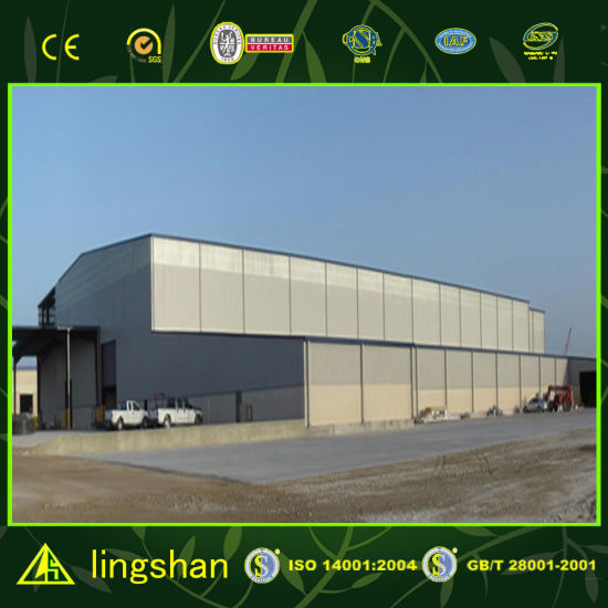 Modern Prefabricated Steel Warehouse Building pictures & photos