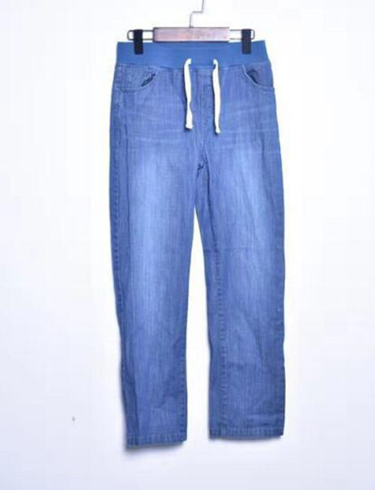 Cotton Viscose From Bamboo Soft Smooth Denim Jeans Pants