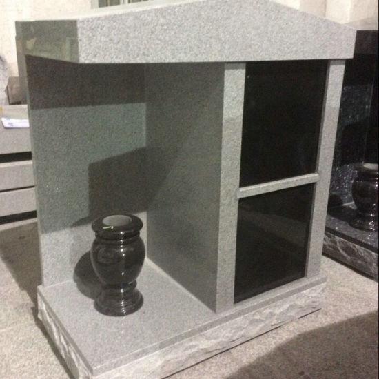 G633 Grey Granite Two Niche Personal Columbarium