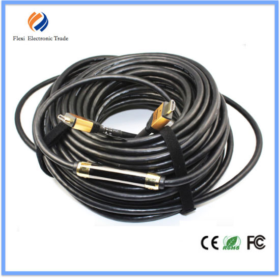 10m 15m 20m 30m 50m Gold Plated 1.4V 2.0V HDMI Cable pictures & photos