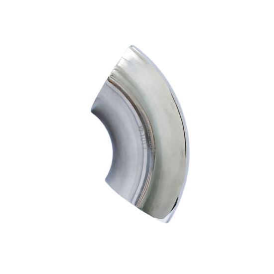 Lr 90 Deg Mirror Polishing Elbow Stainless Steel Fitting for Water