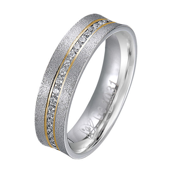 Latest New Simple Model Designs Gold and Silver Brass Finger Ring