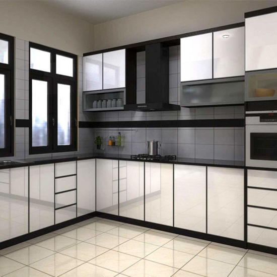 China Construction Material Modern Style Individual New Design Kitchen Cabinet China Luxury Kitchen Cabinet Ready Built Kitchen Cupboards