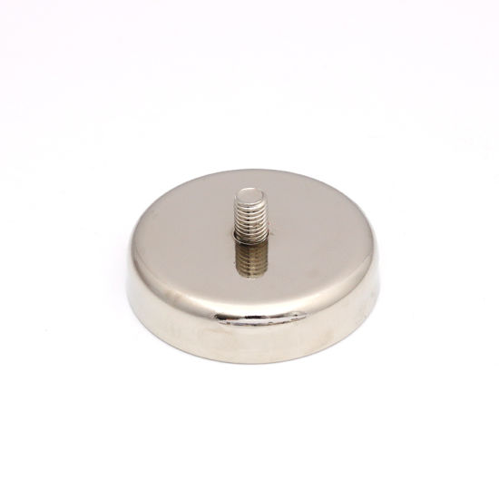 Hot Sales External Thread Neodymium Pot Magnet