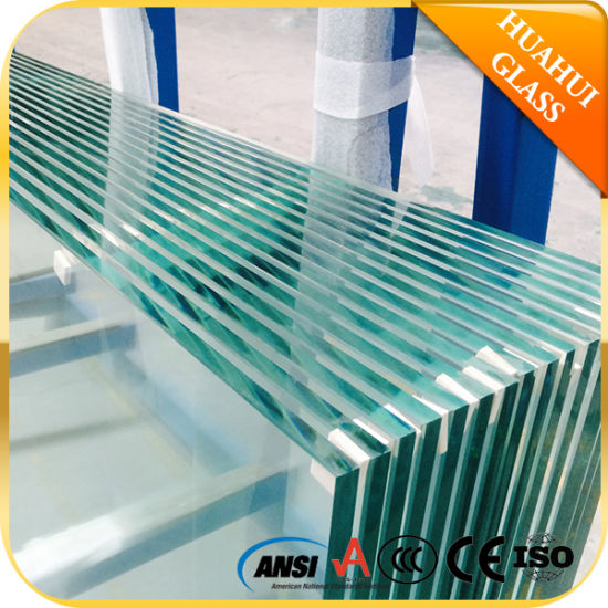 Clear Tinted Frosted Toughened Laminated Tempered Glass for Building/Window/Door/Furniture /Balustrade/Railing