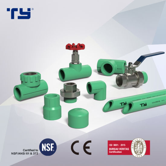 PPR Plastic Pipe Fittings Coupling High Quality (hot water and cold water)