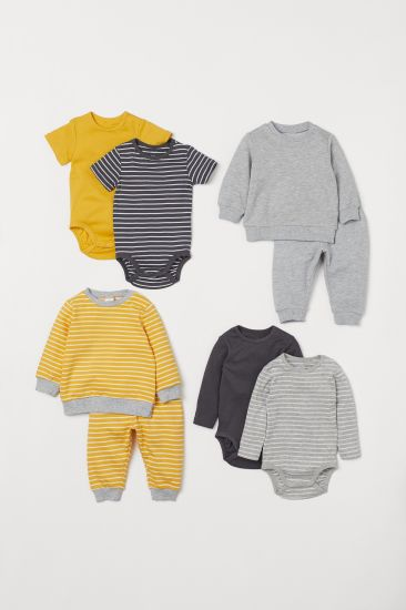 Fashion Clothing Baby Two-Piece Sweater Fun Soft Baby Clothes