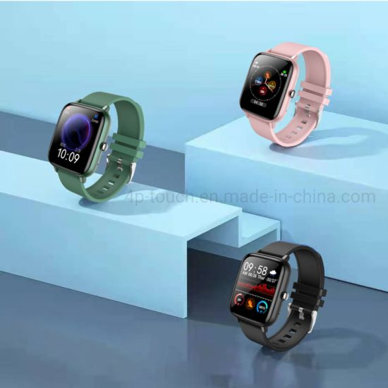 New Full Touch Heart Rate Monitoring Smart Sport Bracelet with SMS Reminder