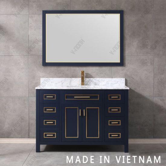 China Thailand Solid Wood Bathroom, Bathroom Vanity Sets
