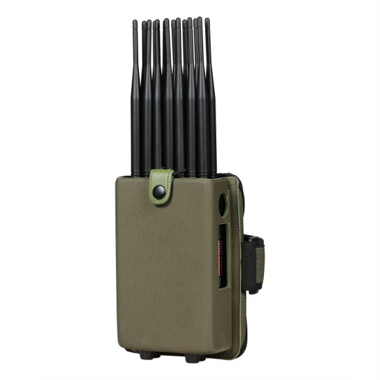 World First 14 Antennas Full Bands All in One Cell Phone Signal Jammer Blocking 5.8g GPS WiFi RF Signal with  Metal pictures & photos