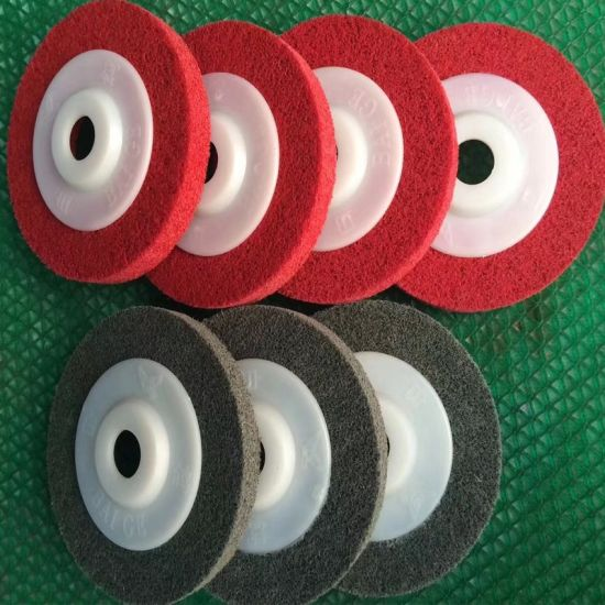 Cutting Grinder Grinding Tool Diamond Flap Blade Polishing Non Woven Material Abrasive Wheel Disc