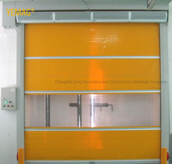 High Speed Plastic Roller Shutter PVC Roller Shutter Doors Automatic Door for Warehouse
