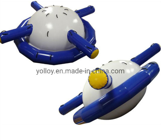 Floating Spinner Disco Boat Towable Inflatable Saturn Rocker pictures & photos
