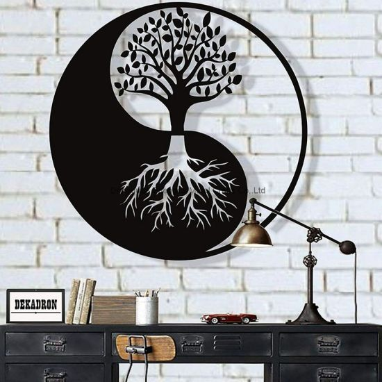 Home Decoration Wall Mounted Metal Wall Art Crafts Promotion Gift
