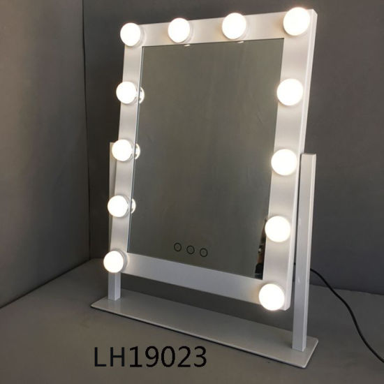 Hollywood Style Dimmable Led Bulbs, What Bulbs For Makeup Mirror