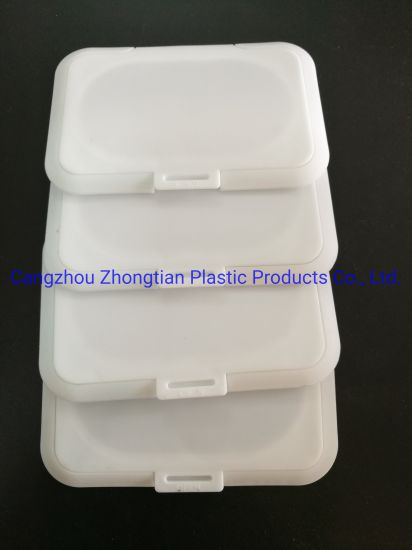 Wholesale Square Plastic Wet Wipes Cover Lid for Wet Towel Container