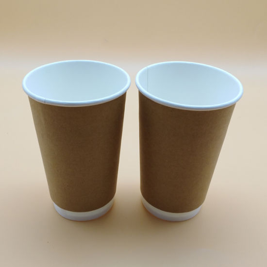 12oz Disposable PLA Compostable Takeaway Coffee Cups Pack of 50 Eco Friendly Drinks Cups