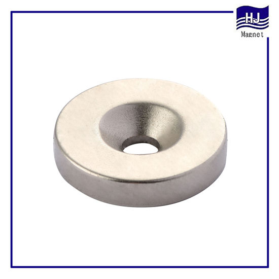 Strong Ring Cylinder Permanent NdFeB Neodymium Magnet with N30-52h Sh Uh Customzied