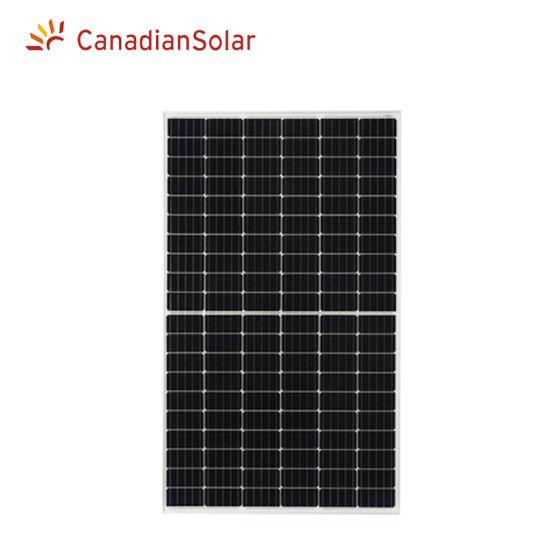 Canadian Solar Mono Half Cell Solar Panel 320W 325W 330W 335W Home Solar Power Panel