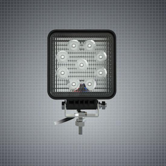 6inch 9W Osram 2835 Squar IP67 LED Work Light for for Trucks/ATV/UTV/Offroad