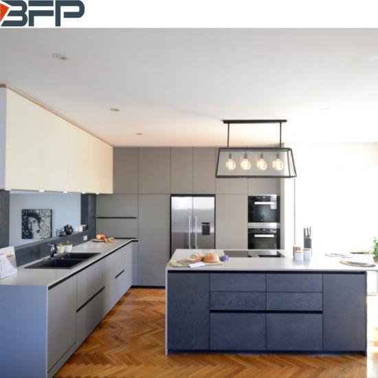 China White And Grey Laminate Kitchen Cabinets Modern Kitchen Furniture China Kitchen Cabinets Kitchen Cabinet