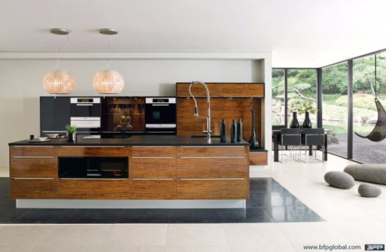 Laminate Kitchen Wood Cupboard Design pictures & photos