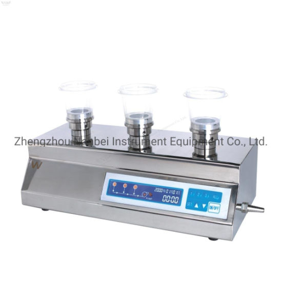 LCD Display Manual Operation 3-Branch Microbial Limit Filter pictures & photos