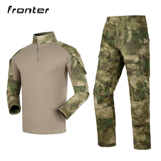 New Style Frog Long Military Uniform with Knee Protection