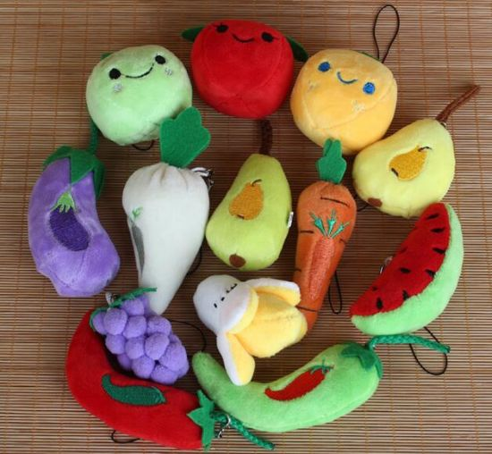 Popular Soft Stuffed Plush Food and Vegetable Toys pictures & photos