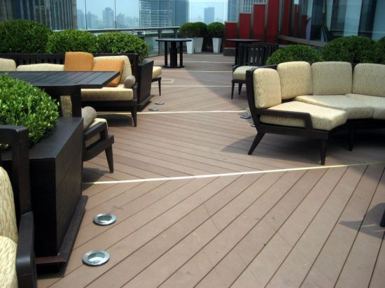 140*25 Made in China Factory WPC Outdoor Flooring pictures & photos